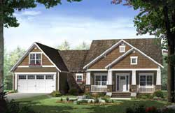 Craftsman Style Floor Plans Plan: 2-321