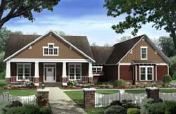 Craftsman Style House Plans Plan: 2-324