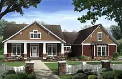 Craftsman Style House Plans Plan: 2-324