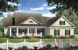 Country Style Floor Plans Plan: 2-332