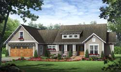 Bungalow Style House Plans Plan: 2-346