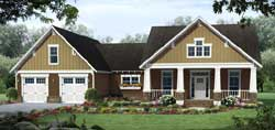 Craftsman Style Floor Plans Plan: 2-348