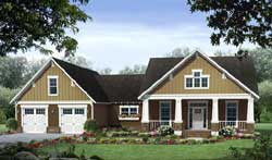 Craftsman Style House Plans Plan: 2-350