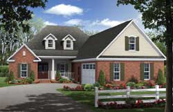 Southern Style House Plans Plan: 2-362