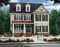 Southern-Colonial Style Floor Plans Plan: 2-365