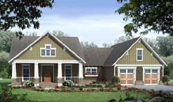 Craftsman Style House Plans Plan: 2-369
