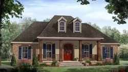 European Style House Plans Plan: 2-377