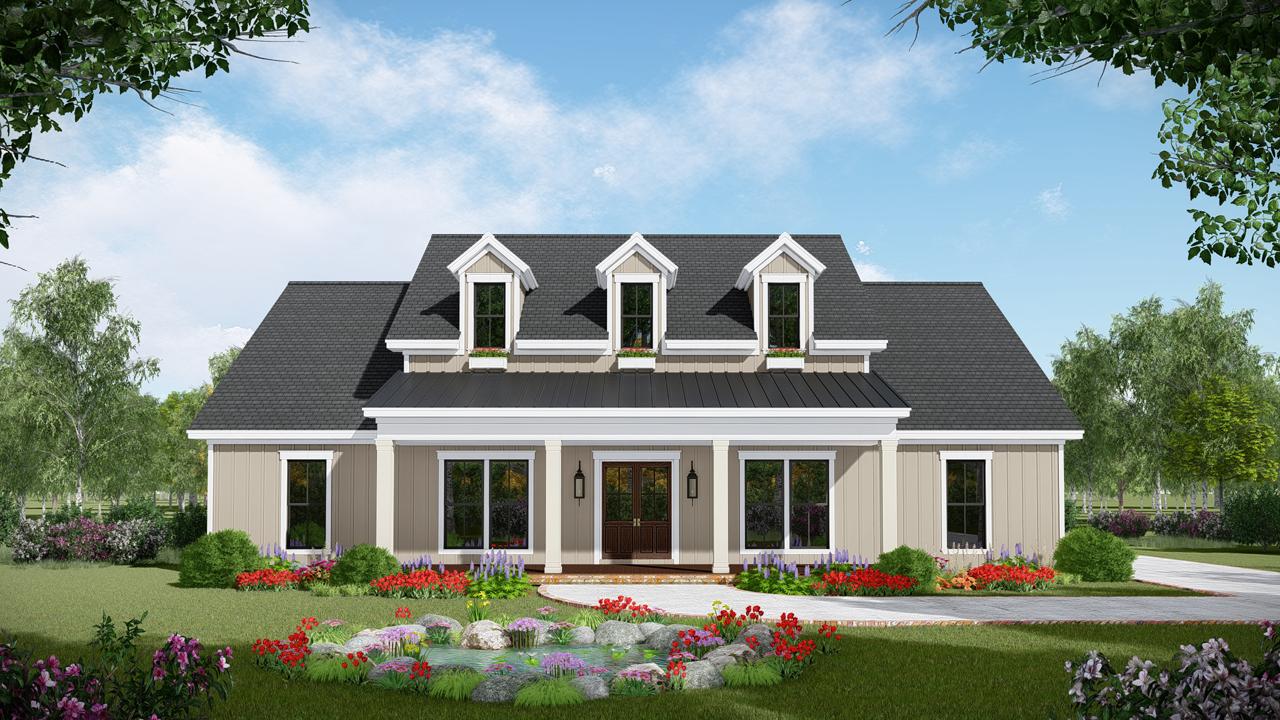 Modern-farmhouse Style House Plans Plan: 2-388