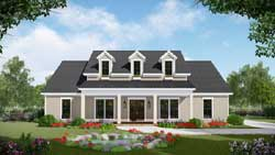Modern-Farmhouse Style House Plans Plan: 2-388