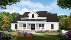 Modern-Farmhouse Style House Plans Plan: 2-389