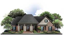 Southern Style House Plans Plan: 2-398