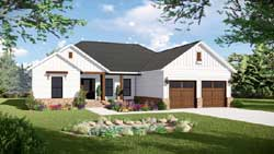 Ranch Style Floor Plans Plan: 2-401