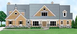 Craftsman Style House Plans Plan: 21-1005