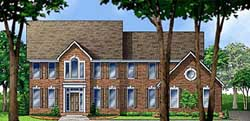 Southern-Colonial Style House Plans Plan: 21-1059