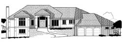 Traditional Style House Plans Plan: 21-1066
