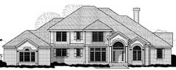 Traditional Style Floor Plans Plan: 21-1077