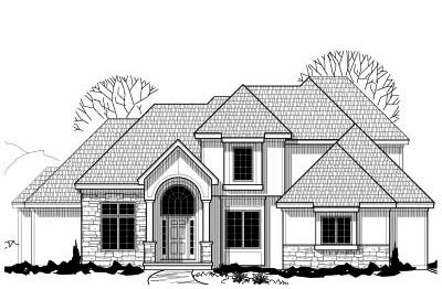 Traditional Style Home Design Plan: 21-144
