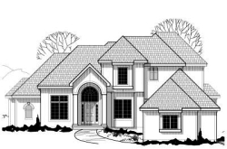 Traditional Style Home Design Plan: 21-145