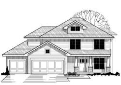 Craftsman Style Floor Plans Plan: 21-207
