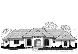 Traditional Style Home Design Plan: 21-219