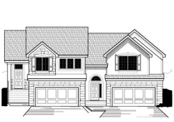 Traditional Style Home Design Plan: 21-255