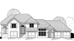 Traditional Style Floor Plans Plan: 21-257