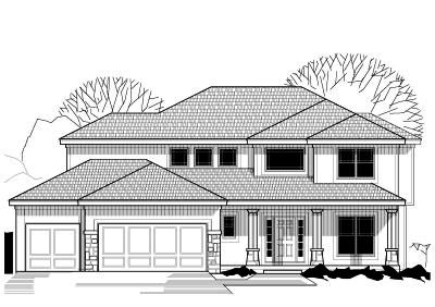 Traditional Style Home Design Plan: 21-319