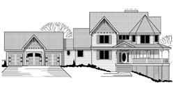 Victorian Style Floor Plans Plan: 21-346