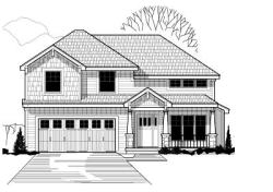 Craftsman Style Home Design Plan: 21-352