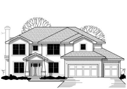 Traditional Style Home Design Plan: 21-377
