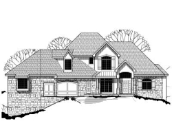 Traditional Style Home Design Plan: 21-384