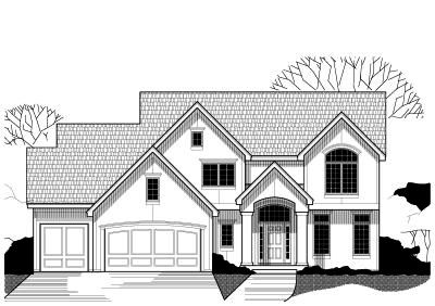 Traditional Style Floor Plans Plan: 21-388