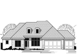 Traditional Style House Plans Plan: 21-397