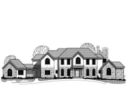 Traditional Style Home Design Plan: 21-403
