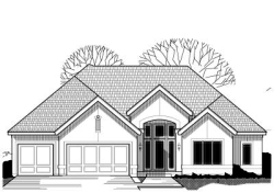 Traditional Style Home Design Plan: 21-439