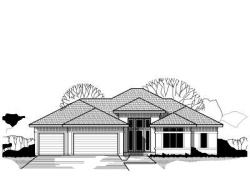 Prairie Style Home Design Plan: 21-441