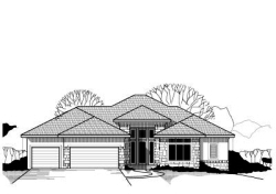 Traditional Style Home Design Plan: 21-443