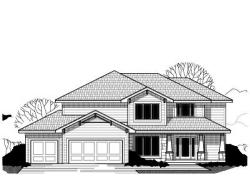 Craftsman Style Home Design Plan: 21-465