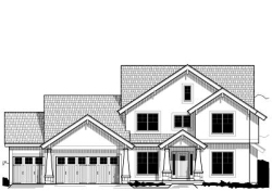 Craftsman Style Home Design Plan: 21-500