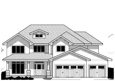 Craftsman Style House Plans Plan: 21-510