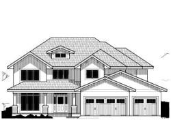 Craftsman Style Home Design Plan: 21-511