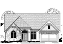 Traditional Style Home Design Plan: 21-565