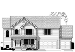 Country Style Floor Plans Plan: 21-566