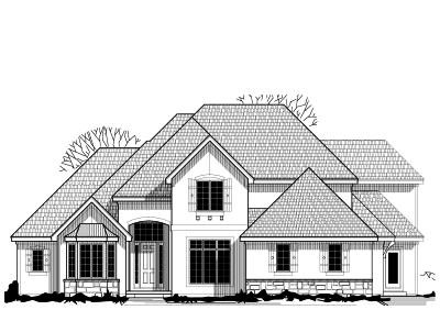 Traditional Style Floor Plans Plan: 21-572