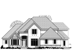 Traditional Style House Plans Plan: 21-572