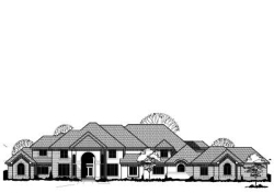 Traditional Style Floor Plans 21-590