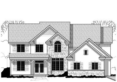 Traditional Style House Plans Plan: 21-598