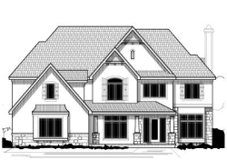 Traditional Style Home Design Plan: 21-599