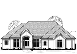 Traditional Style Home Design Plan: 21-611