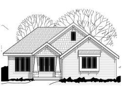 Craftsman Style Home Design Plan: 21-620